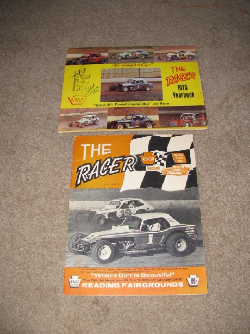 Vintage Reading Fairgrounds Racing Programs - 5