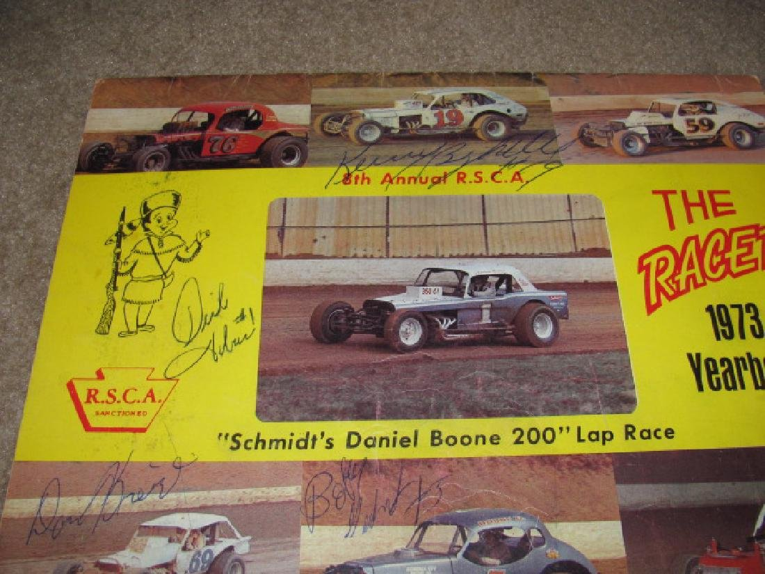 Vintage Reading Fairgrounds Racing Programs - 6