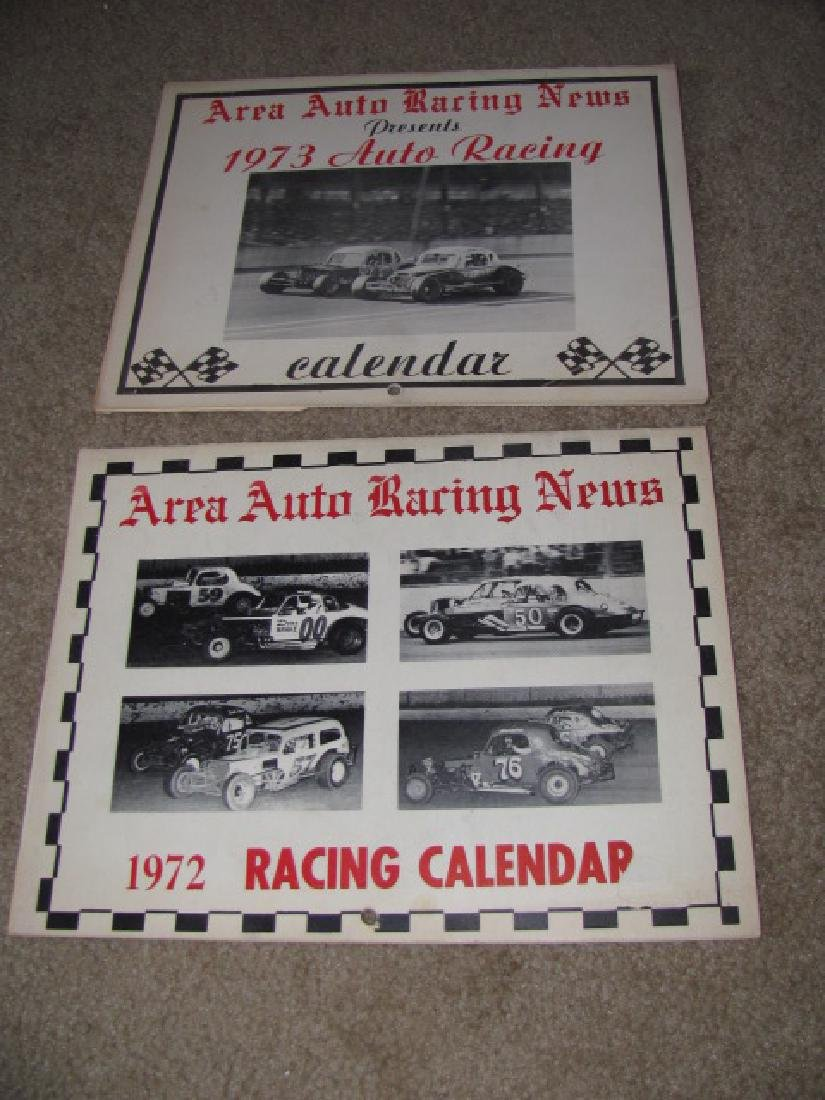 Area Auto Racing News Books - 3