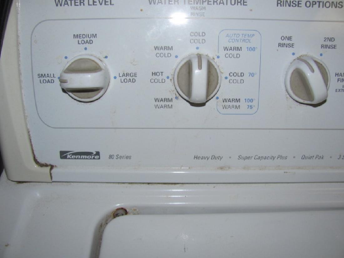 Kenmore 80 Series Washer - 2