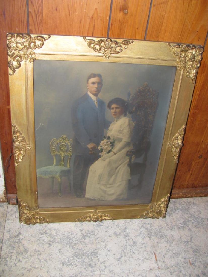Framed Victorian Picture