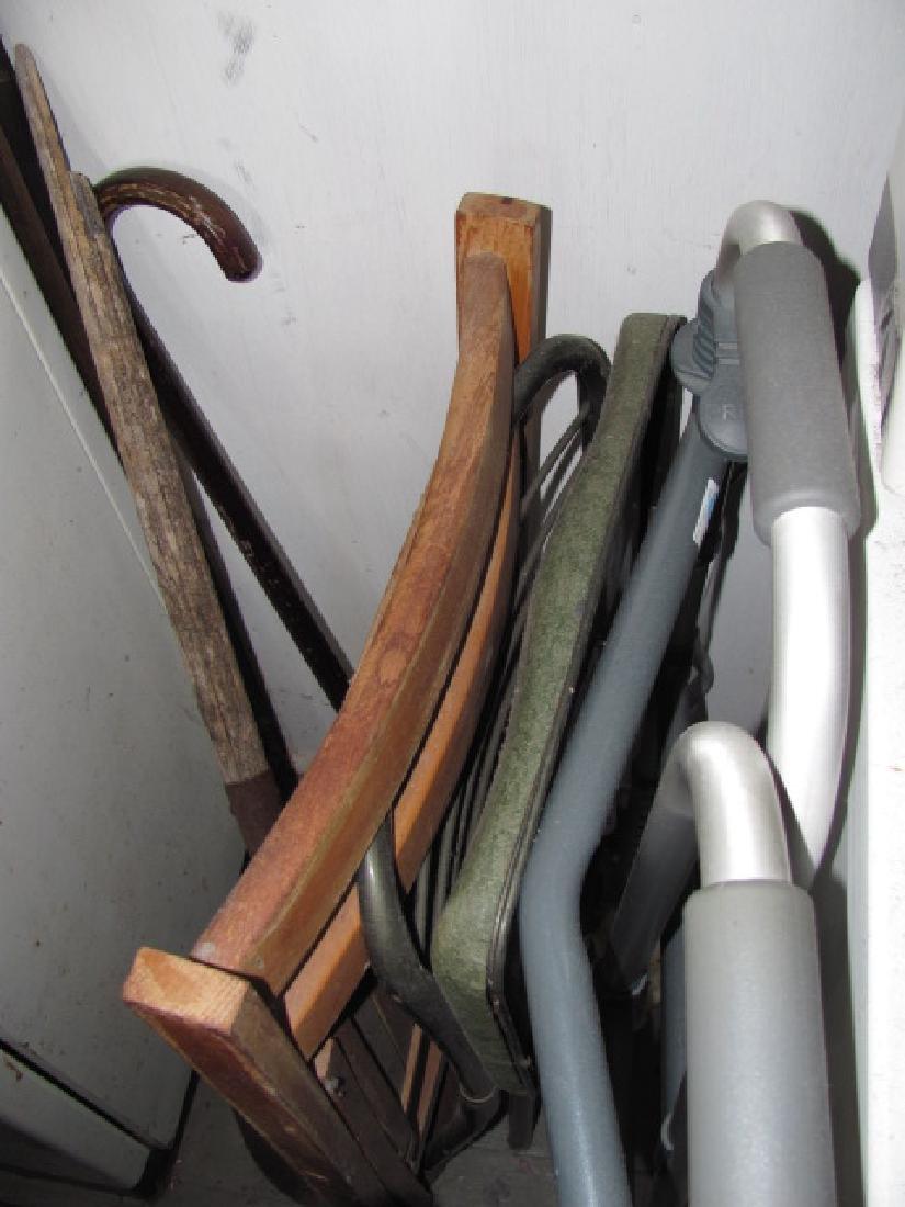 Metal Cabinet & Contents - 3