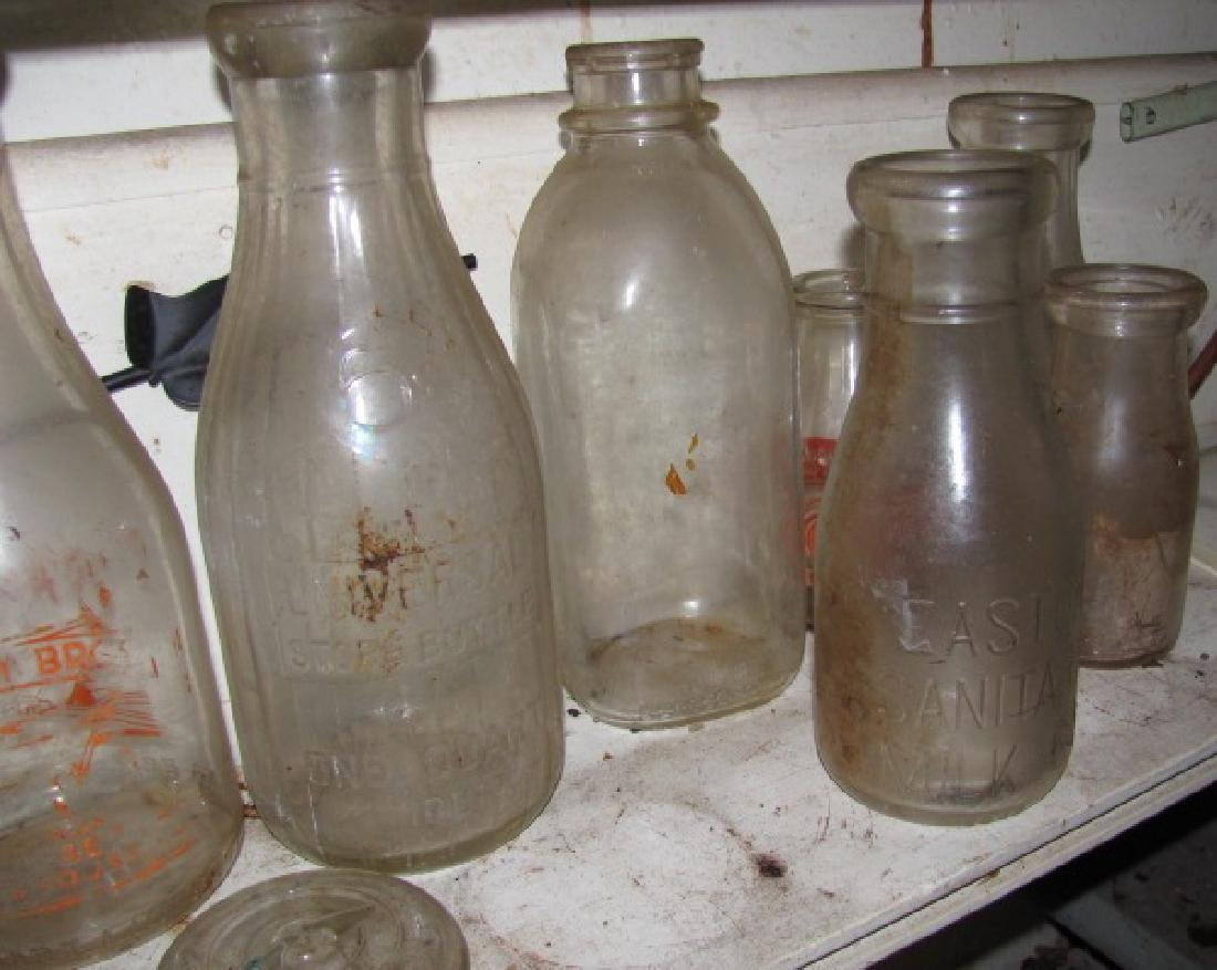 Lot of Milk Bottles - 2