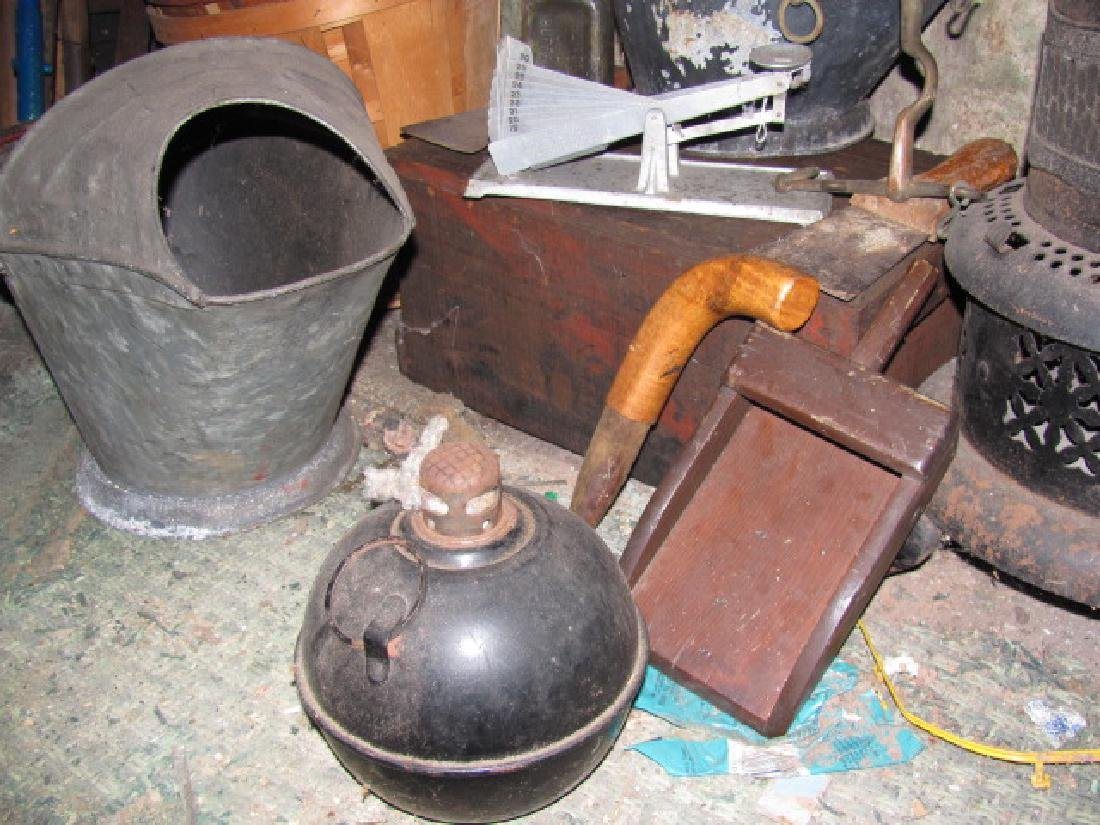 Coal Buckets Wood Crate Egg Scale - 3