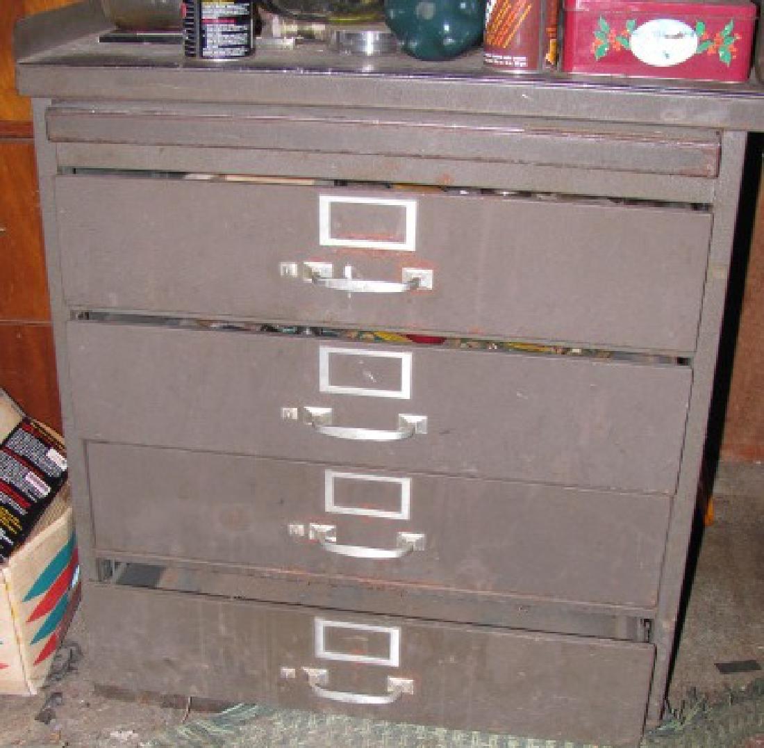 Parts Cabinet & Tools