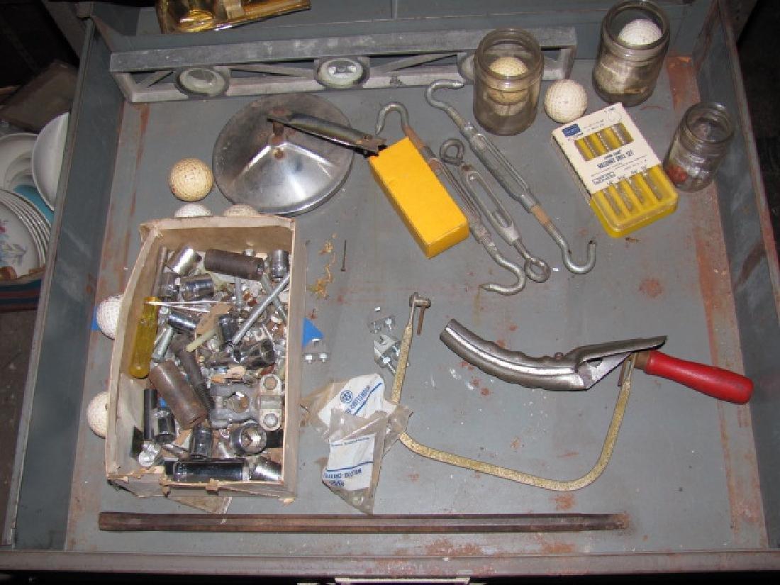 Parts Cabinet & Tools - 2