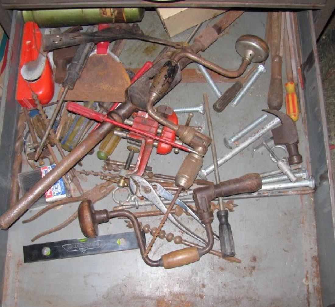 Parts Cabinet & Tools - 4
