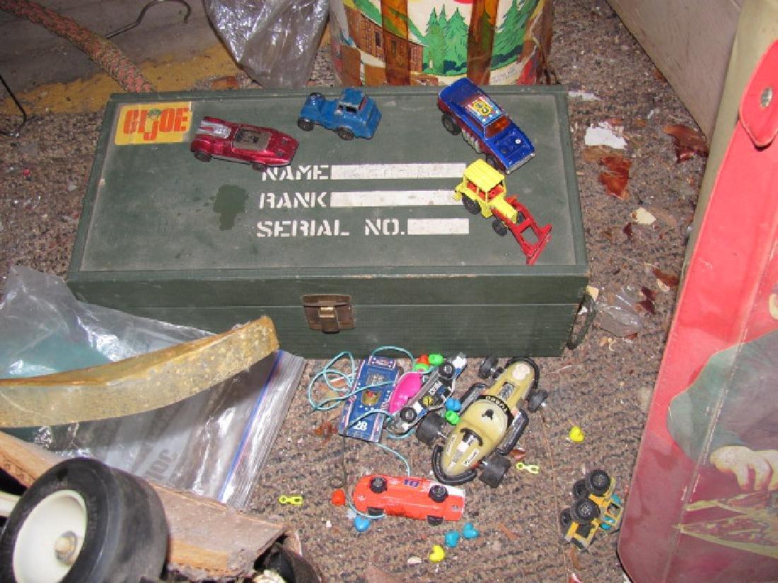 Matchbox Cases GI Joe Box Toy Lot - 4