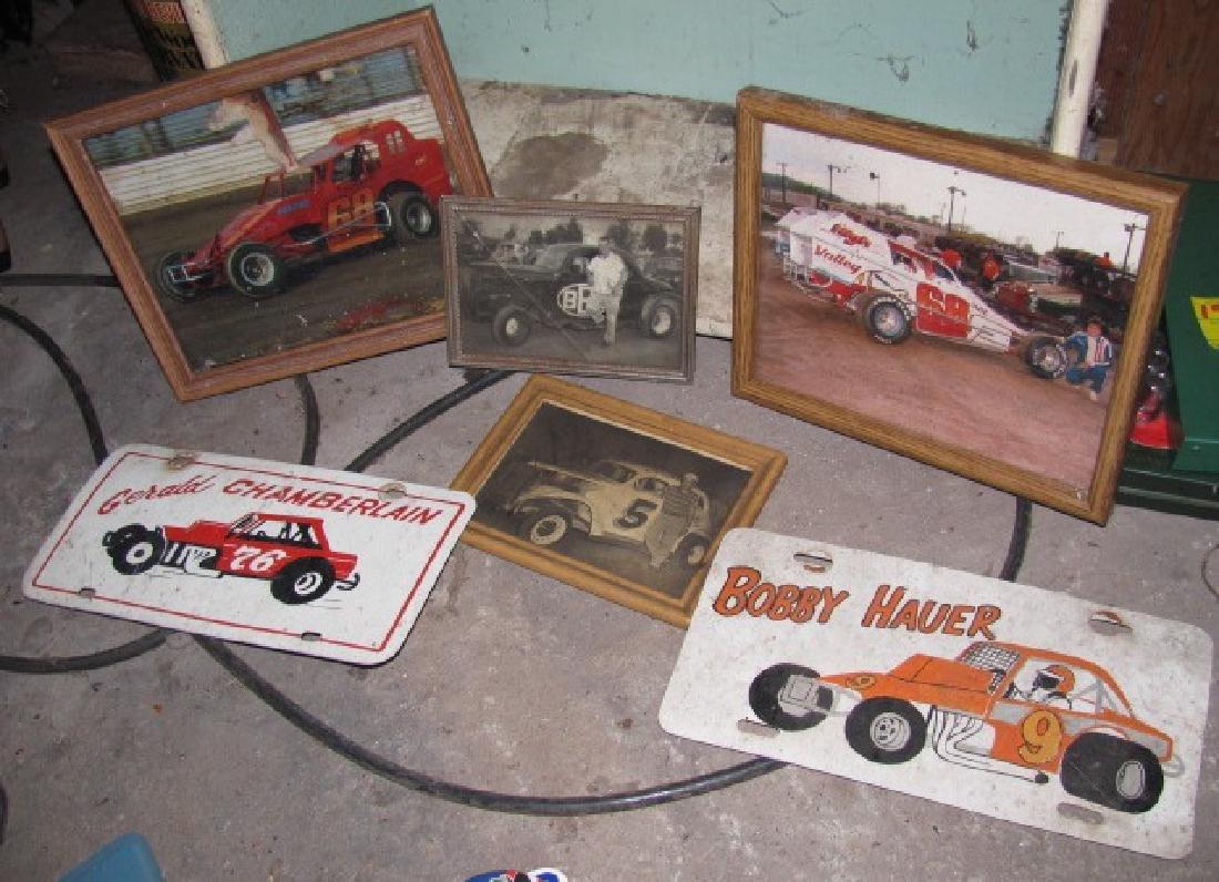 Racing Photos & License Plates