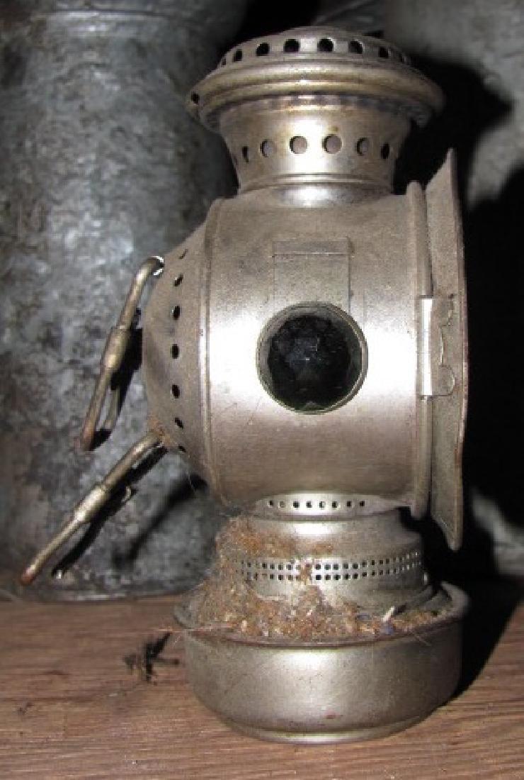Oil Cans Bottle & Lantern - 2