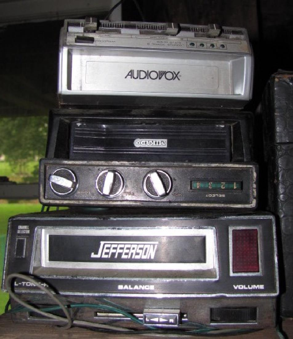 8 Track Players & Tapes