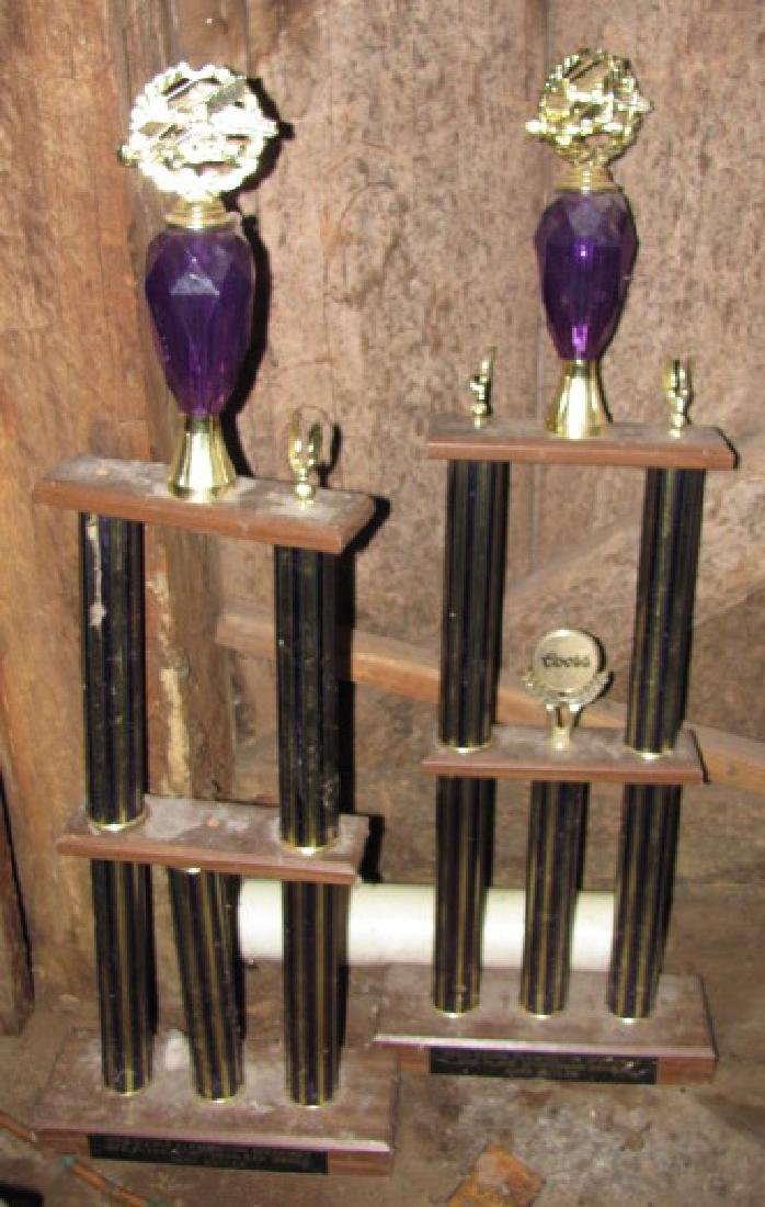 2 Flemington Speedway Sportsman Trophies