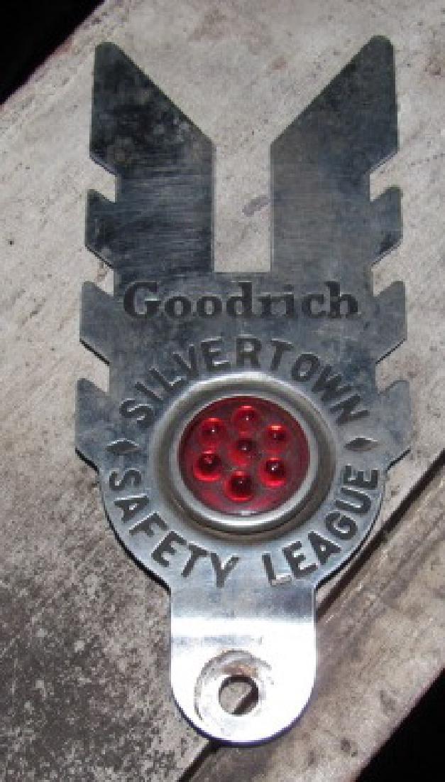Goodrich Safetytown License Plate Tag