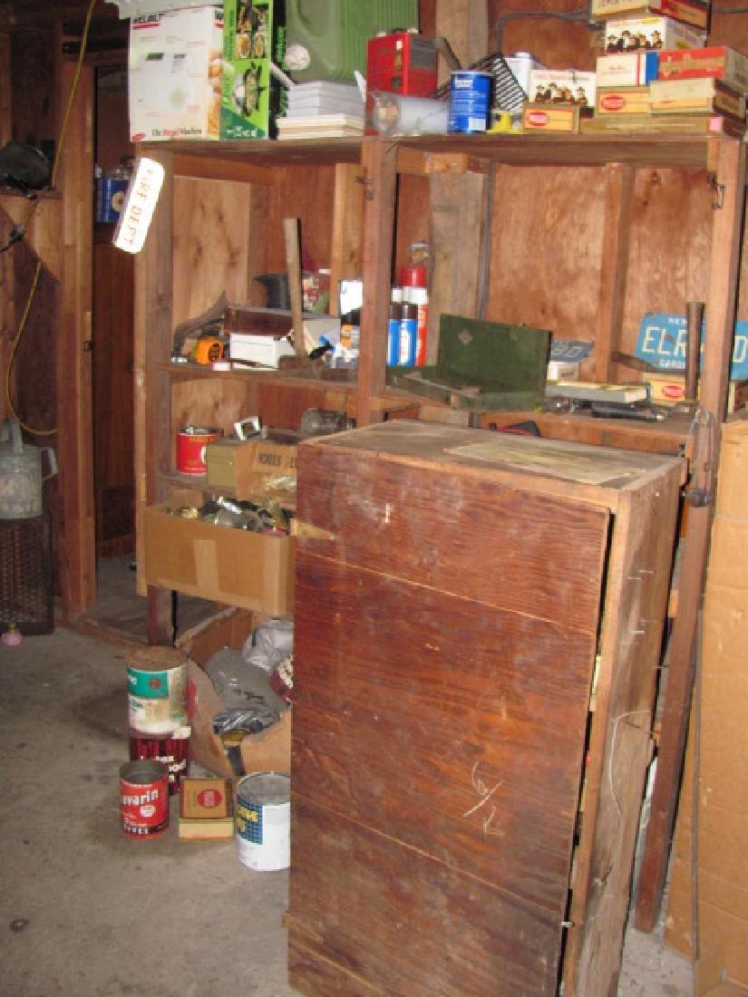 Basement Tool Shelf Contents