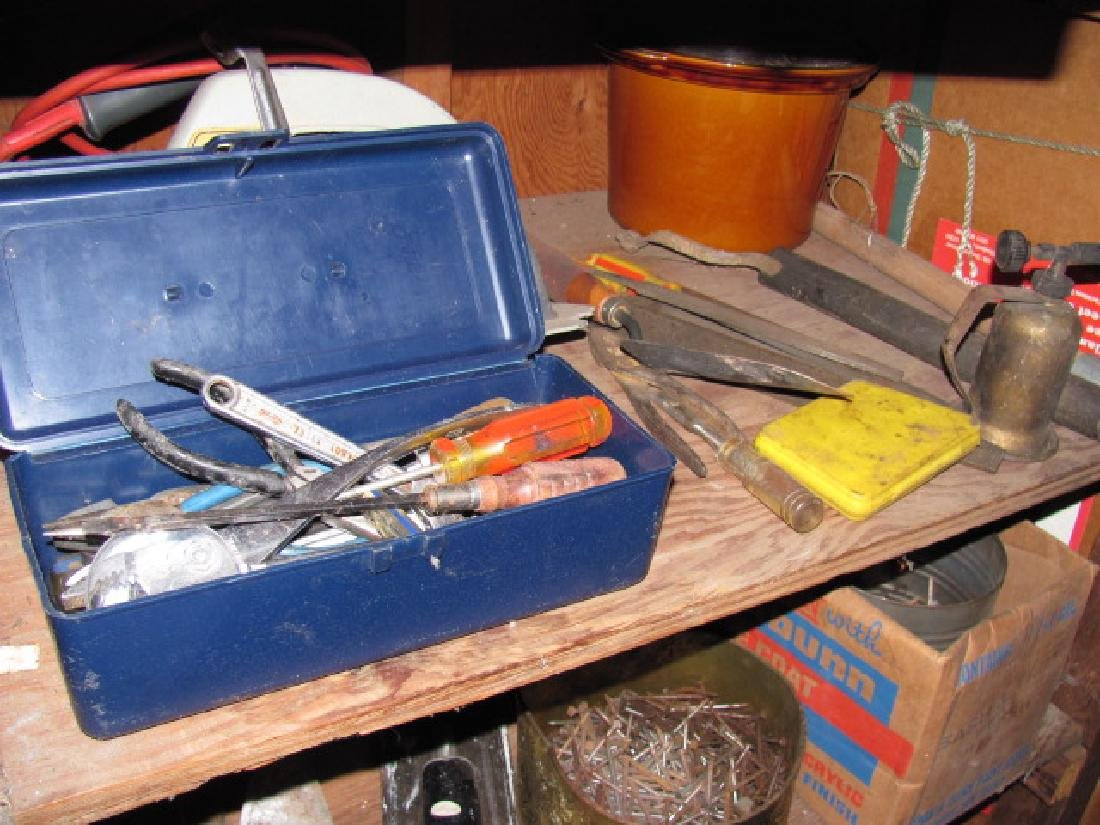 Basement Tool Shelf Contents - 2