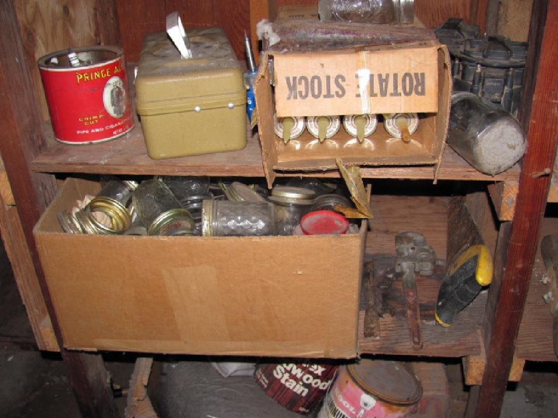 Basement Tool Shelf Contents - 5
