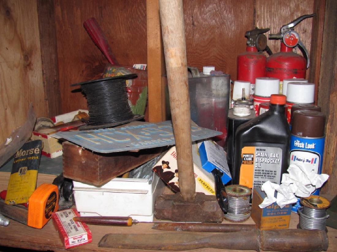 Basement Tool Shelf Contents - 6