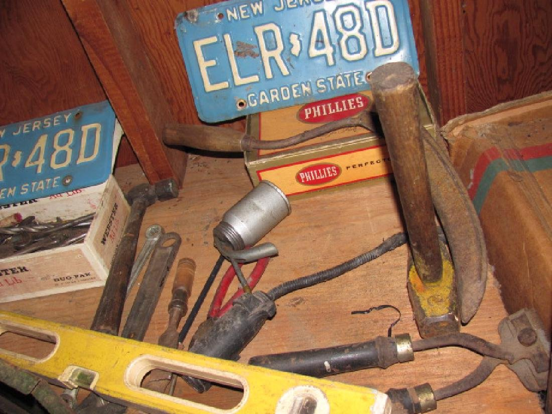 Basement Tool Shelf Contents - 8