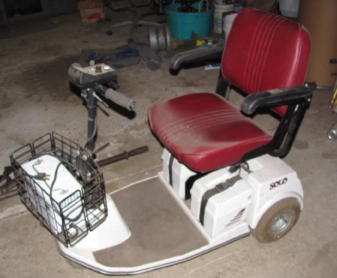 Solo 3 Wheel Cart / Scooter - 3