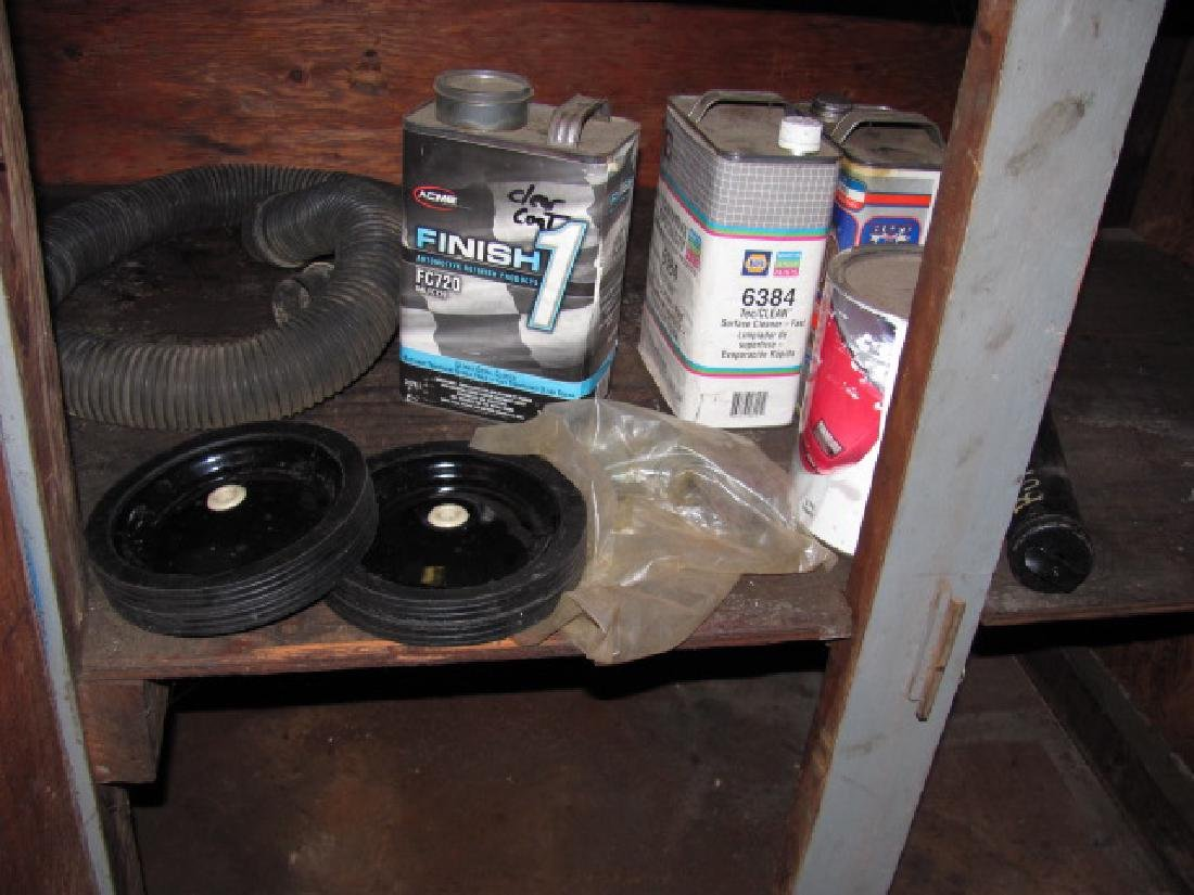 Workbench Cabinet Contents