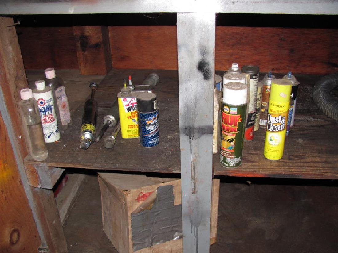 Workbench Cabinet Contents - 2