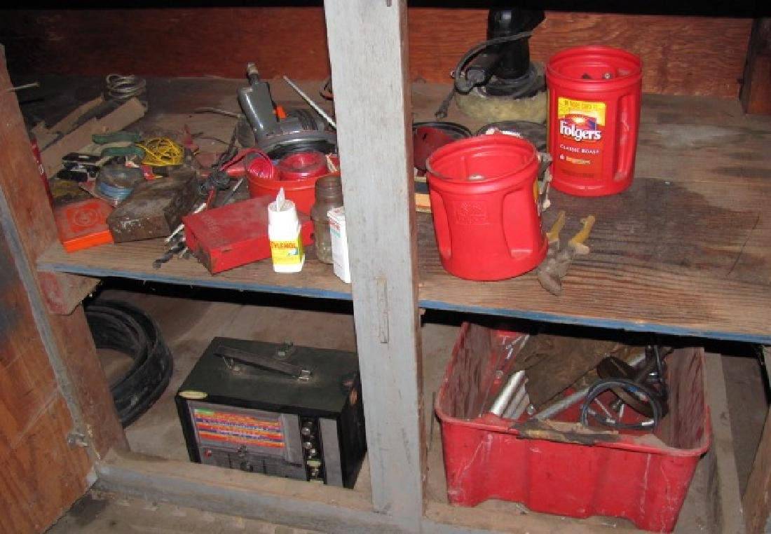 Workbench Cabinet Contents - 3