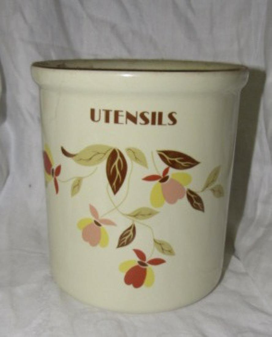 1995 Hall China Utensil Canister Limited