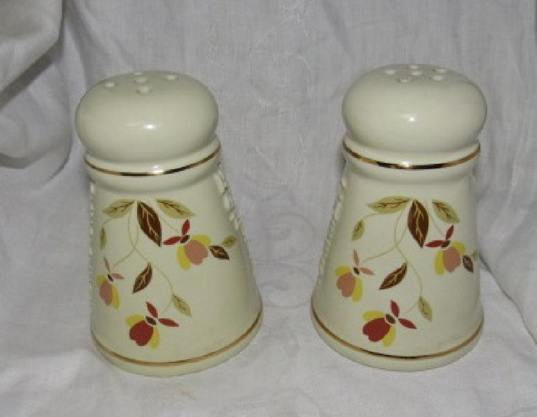 N.A.L.C.C Hall China Pepper Cheese Shakers