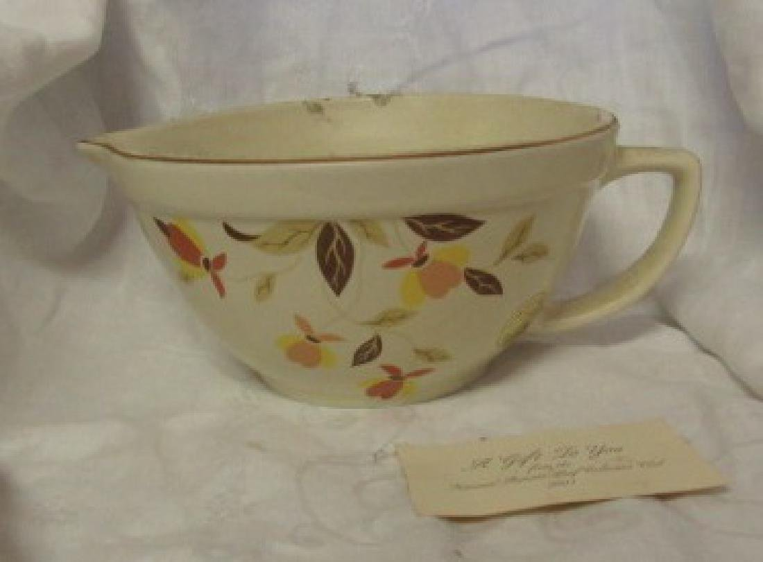1996 Hall China Batter Bowl Limited Edition