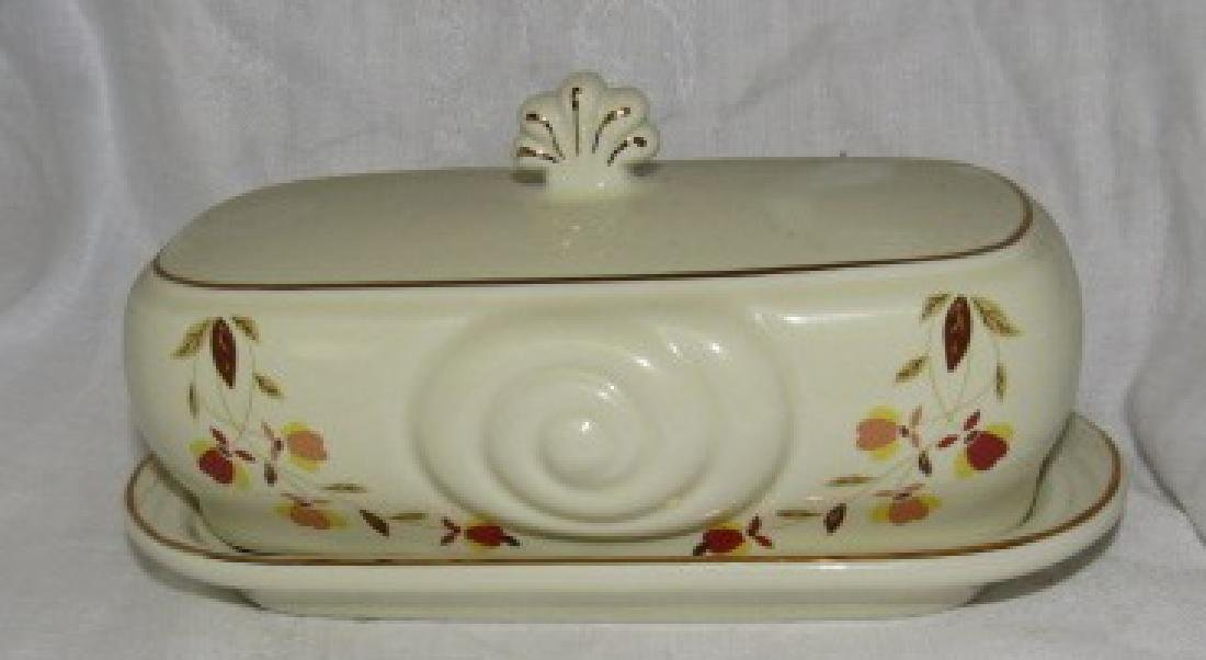 1999 N.A.L.C.C Halls China Butter Dish