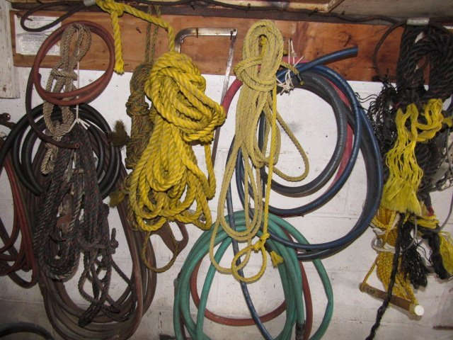 Ropes, Water Hoses, Come A Long Lot