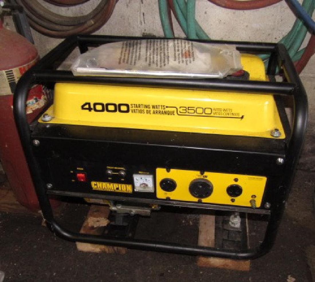 Champion 4000 Generator