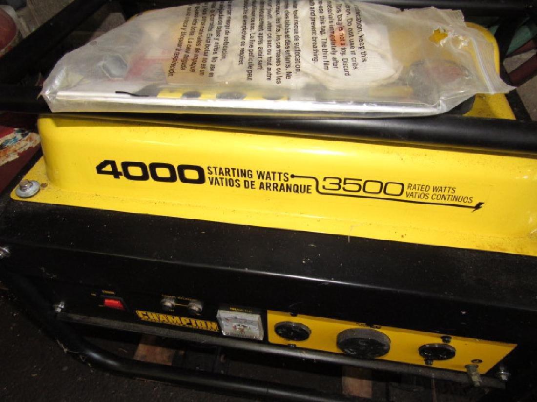 Champion 4000 Generator - 2