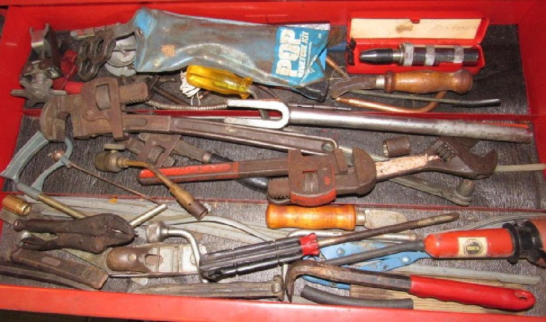 Tool Lot - Pipe Wrenches, Impact Driver