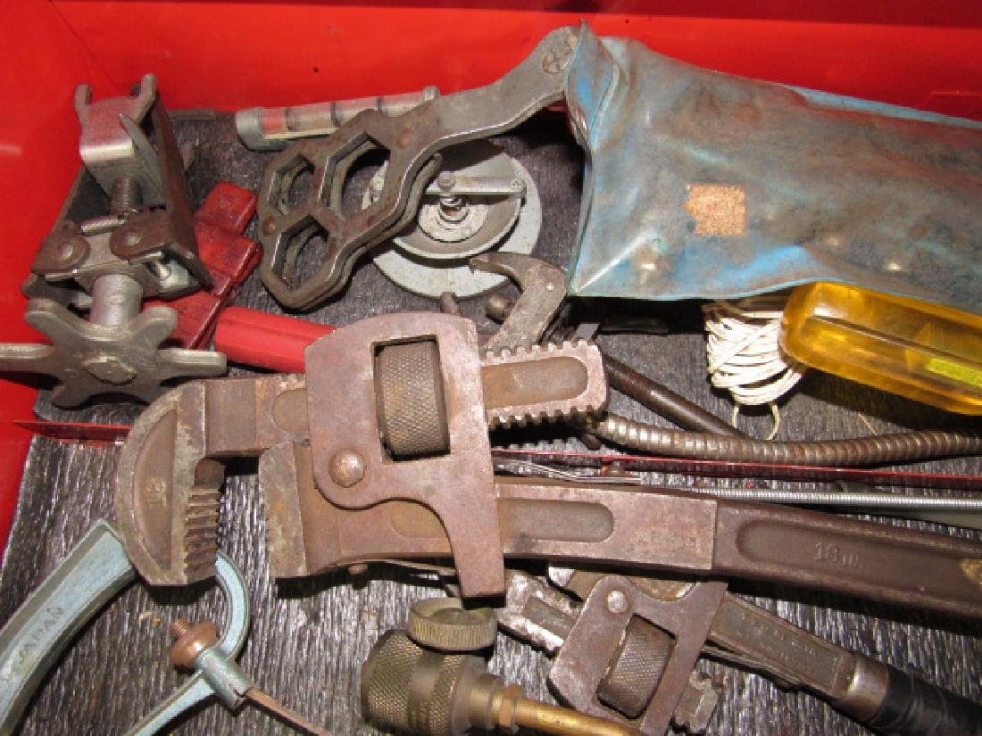 Tool Lot - Pipe Wrenches, Impact Driver - 2