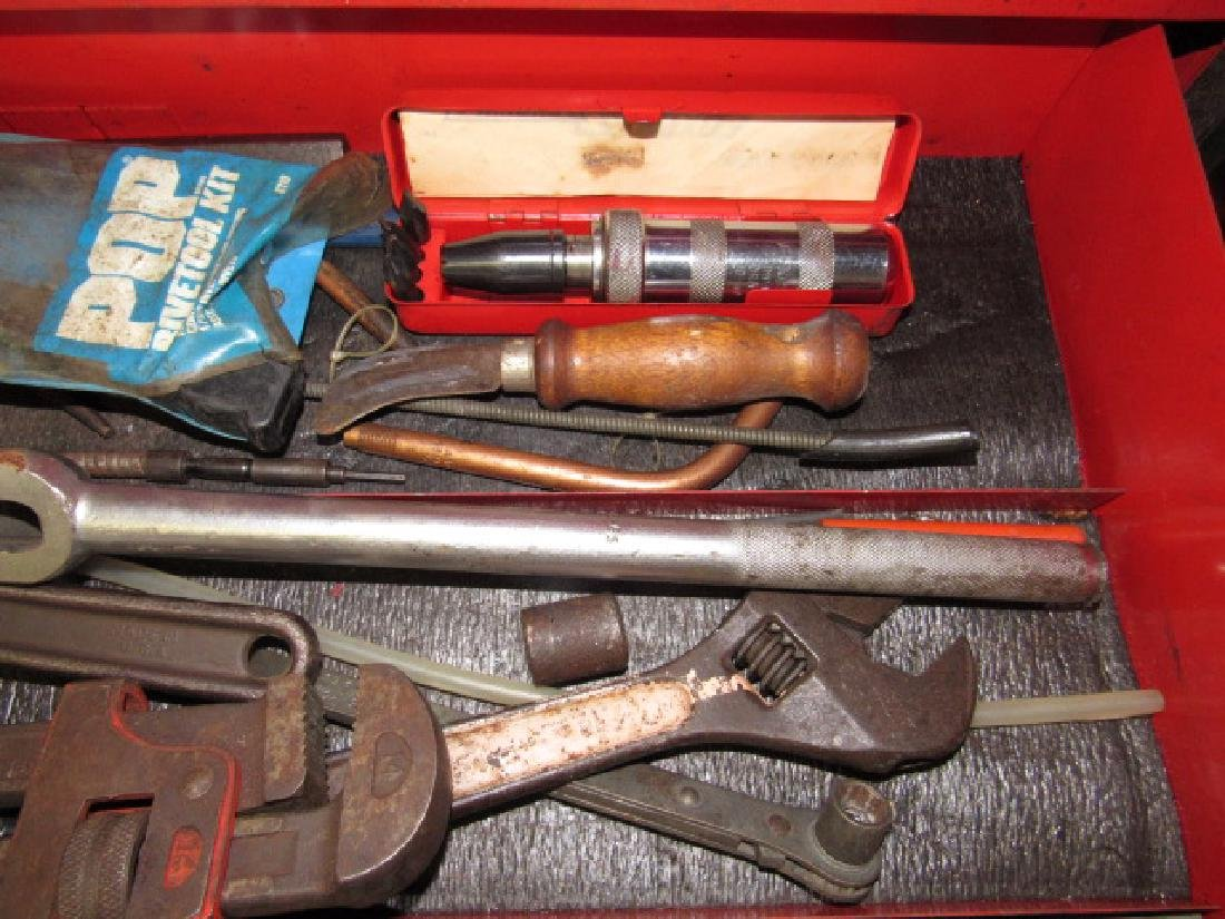Tool Lot - Pipe Wrenches, Impact Driver - 3