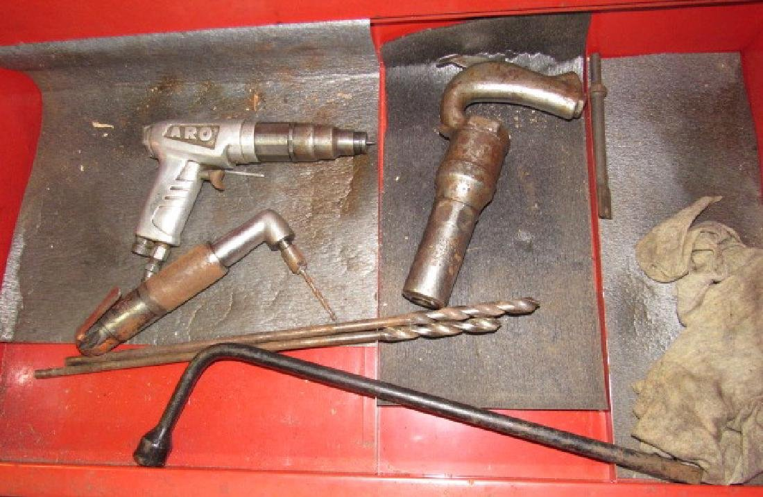 Air Tool Lot Drill Aro Driver Ingersoll Chipping