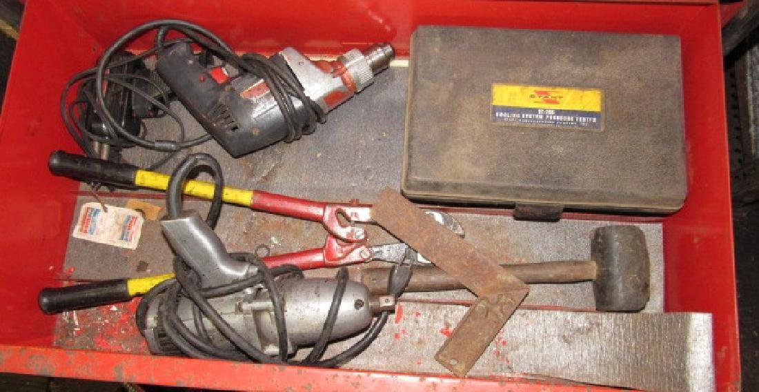 Drills & Stant Pressure Tester Lot