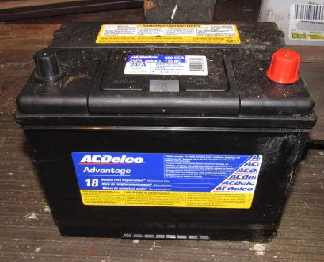 AC Delco 24FA Battery