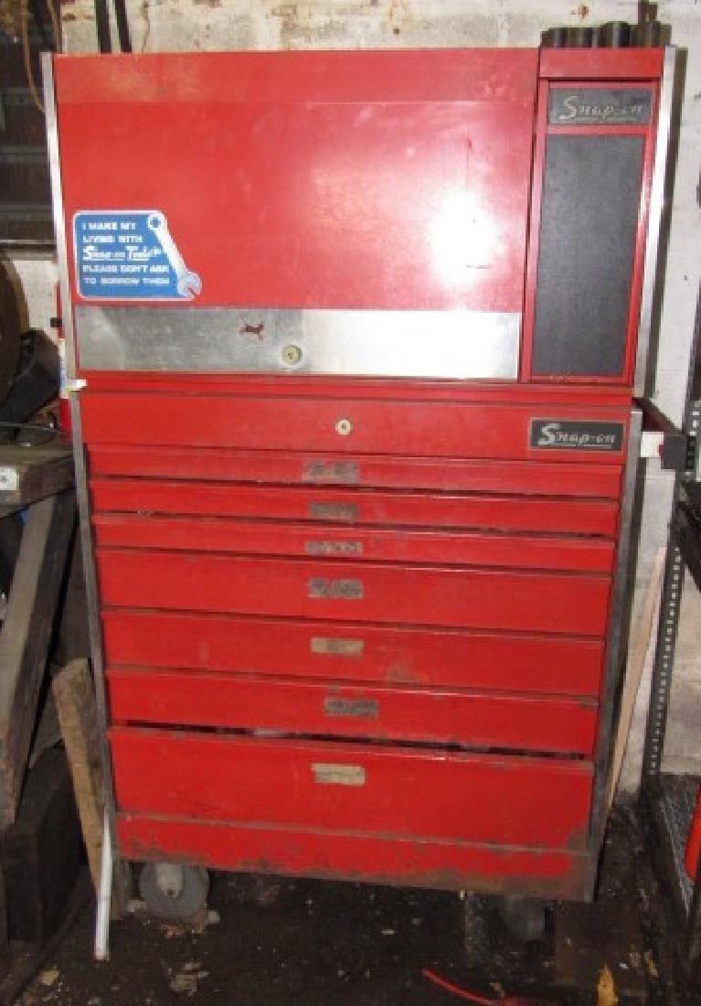Vintage Snap On Tool Box - 4