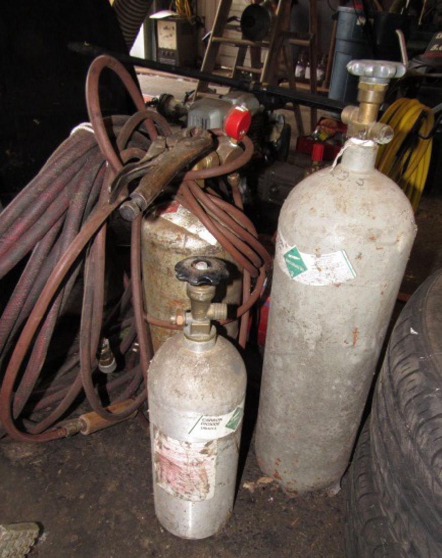 Carbon Dioxide & Acetylene Tanks