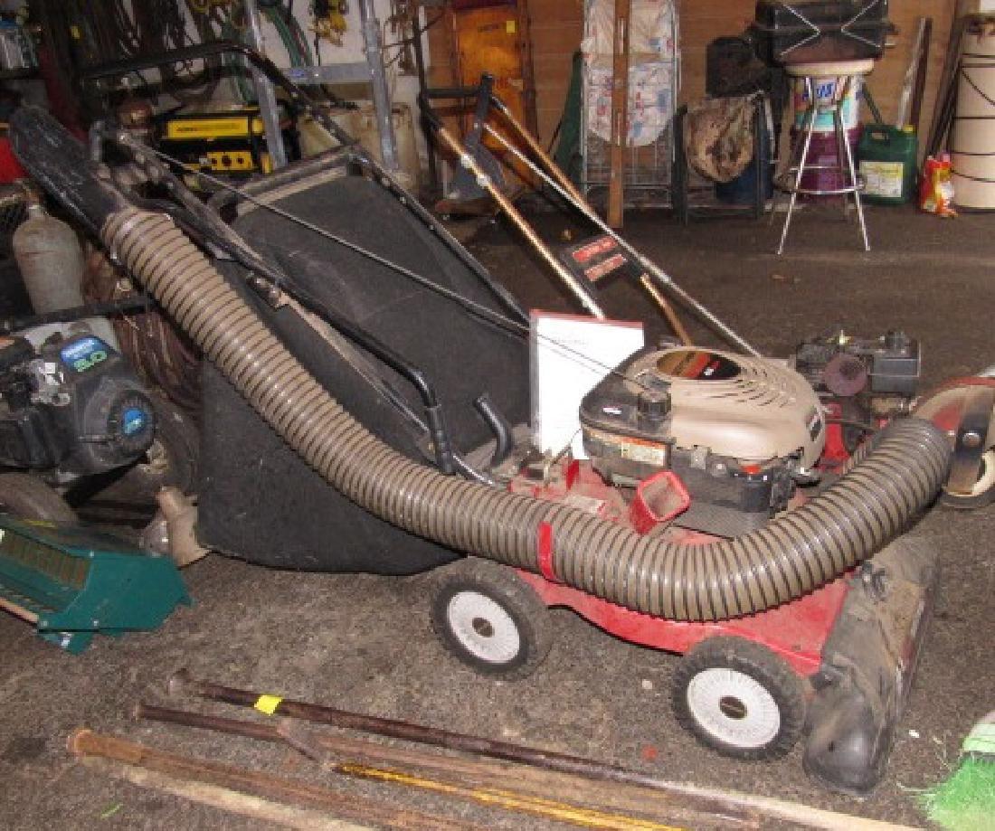 Craftsman 6hp Yard Vacuum Chipper Shredder