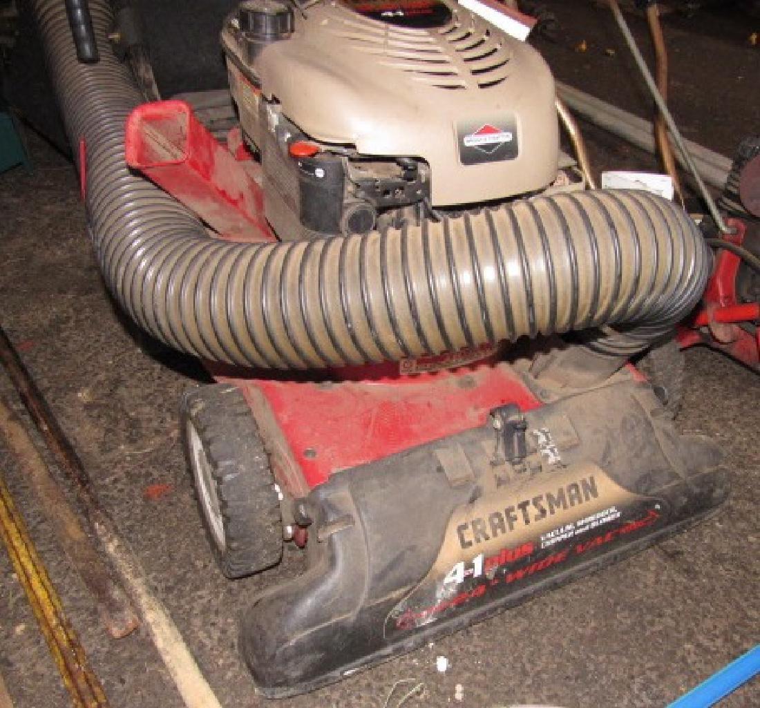 Craftsman 6hp Yard Vacuum Chipper Shredder - 2