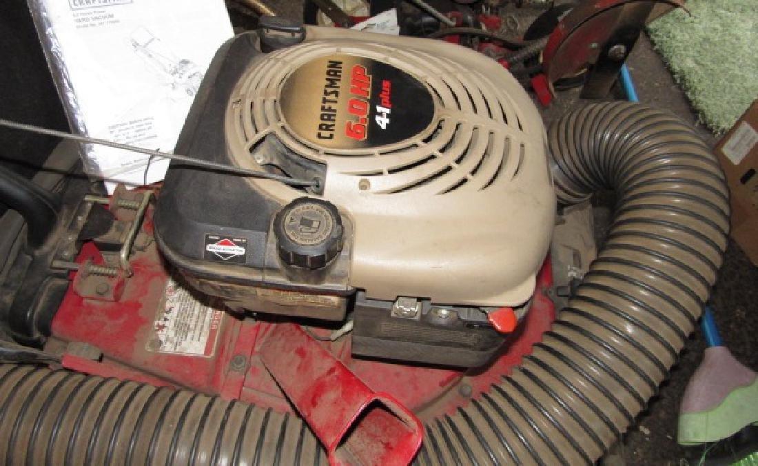 Craftsman 6hp Yard Vacuum Chipper Shredder - 3