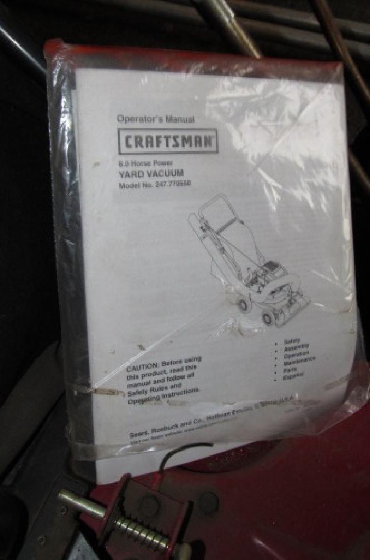 Craftsman 6hp Yard Vacuum Chipper Shredder - 4