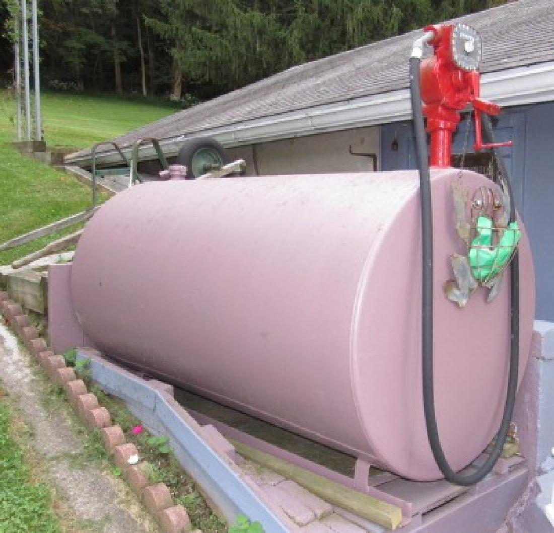 Gas Fuel Tank w/ Gasboy Pump