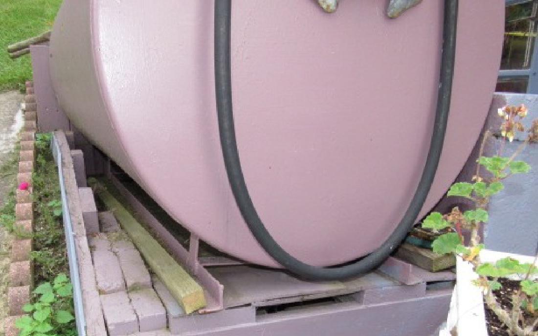 Gas Fuel Tank w/ Gasboy Pump - 2