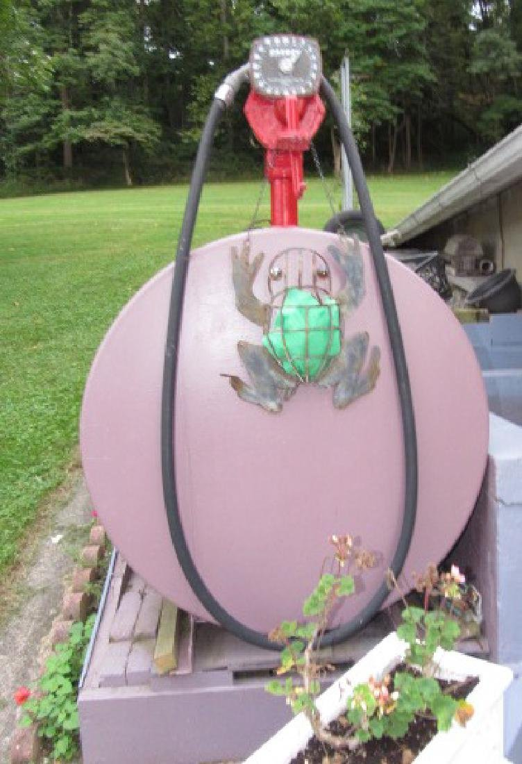 Gas Fuel Tank w/ Gasboy Pump - 3
