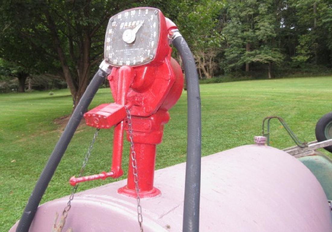 Gas Fuel Tank w/ Gasboy Pump - 4