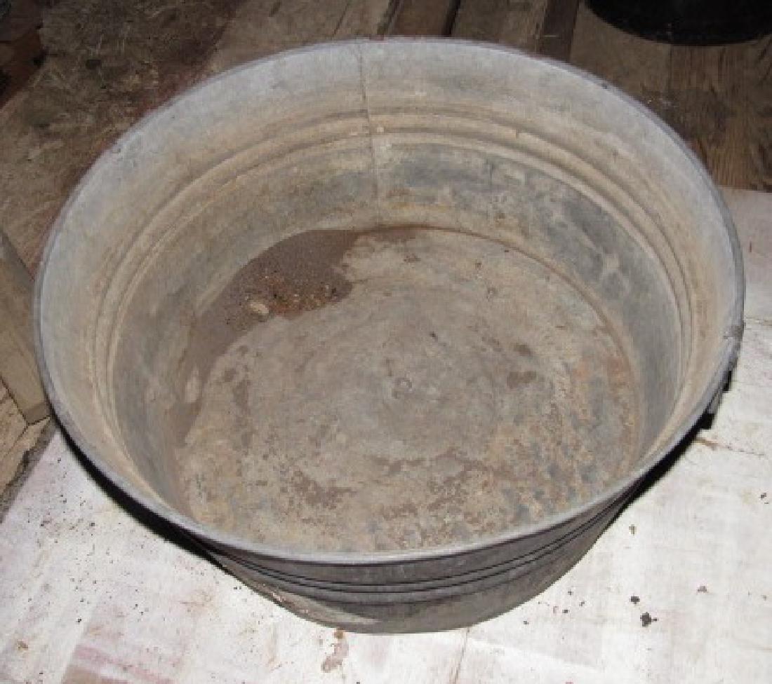 Galvanized Tub - 2